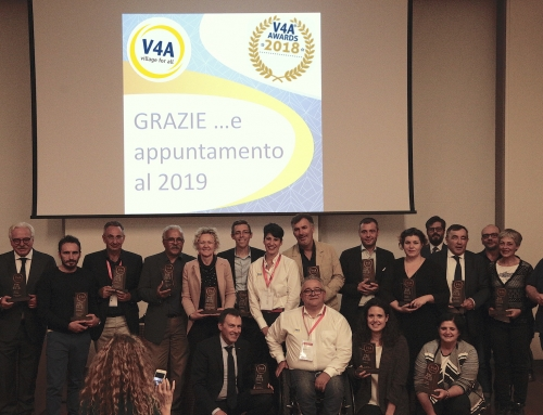 Premiate le strutture TOP dell'Ospitalità Accessibile con i V4A Awards 2018 all'Hospitality Day