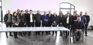 Il momento della firma dell'Accordo di Partnership per il turismo inclusvo