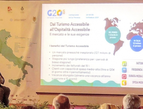 Al G20s Presentato il Tool Kit dell'Ospitalità Accessibile di V4A®
