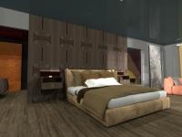 Vista d'interno della Suite Accessibile di Hotel in Motion al SIA 2019