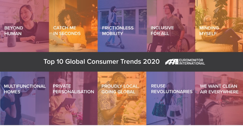 TOP 10 Global Consumer Trends 2020