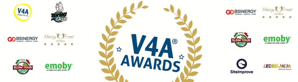 Logo V4A® Awards e degli Sponsor