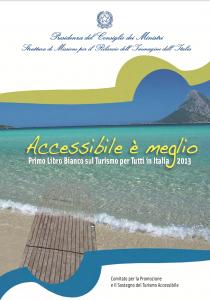 Copertina del libro bianco Turismo Accessibile 2013