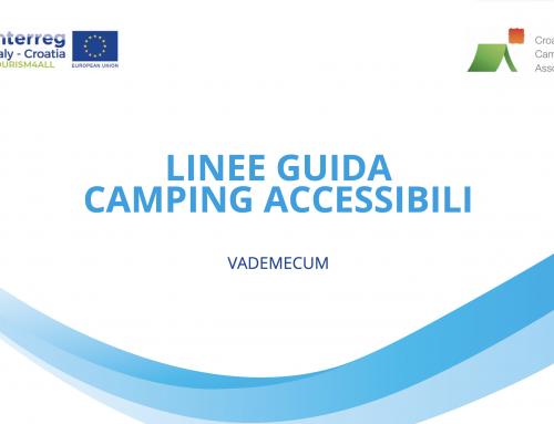 Vademecum Campeggi Accessibili Tourism4All Project Croazia