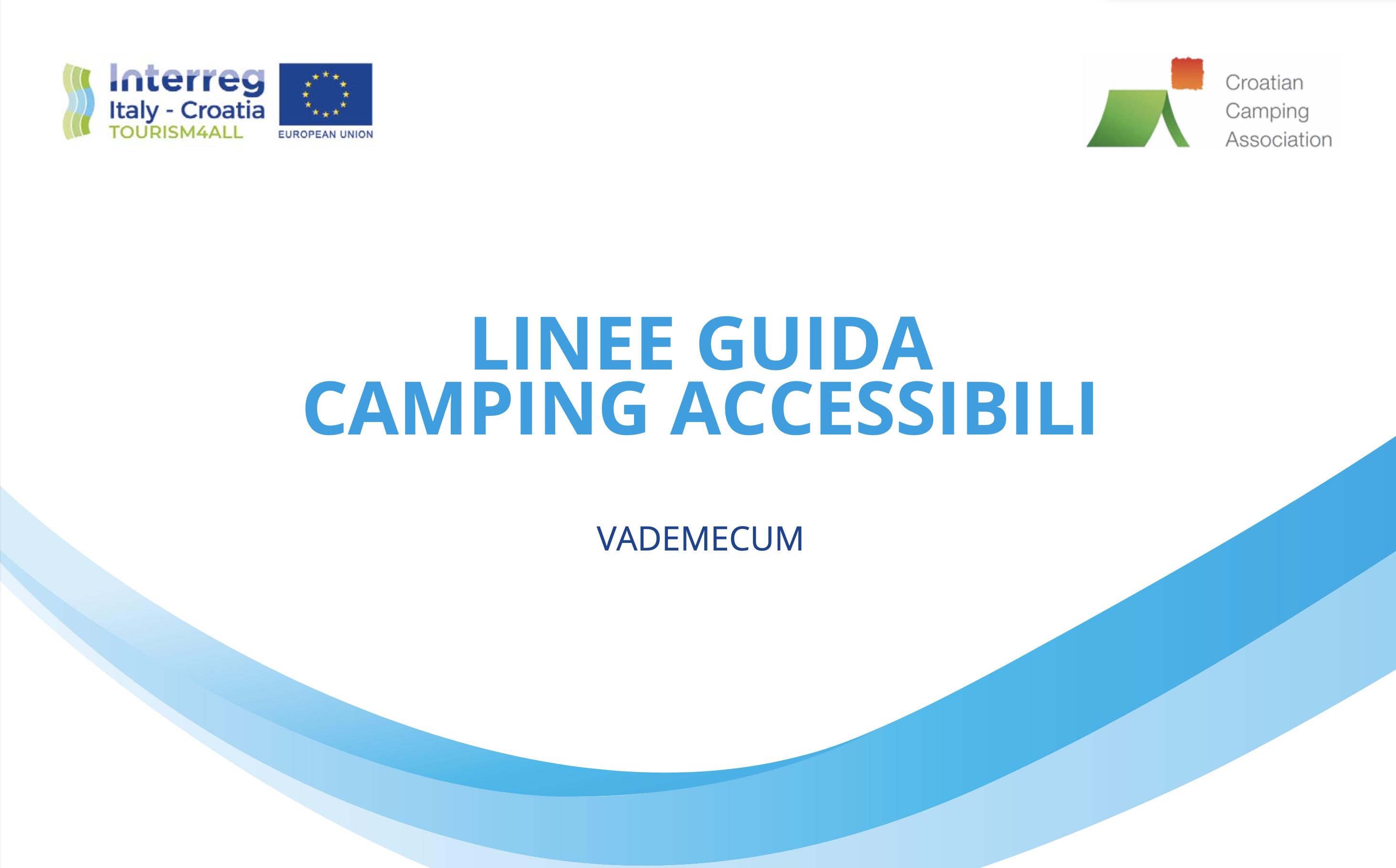 Copertina Vademecum Campeggi Accessibili